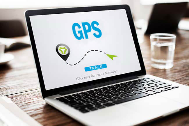 Supports any GPS tracking system