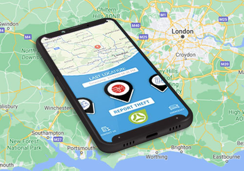 Find your car with Trackstar